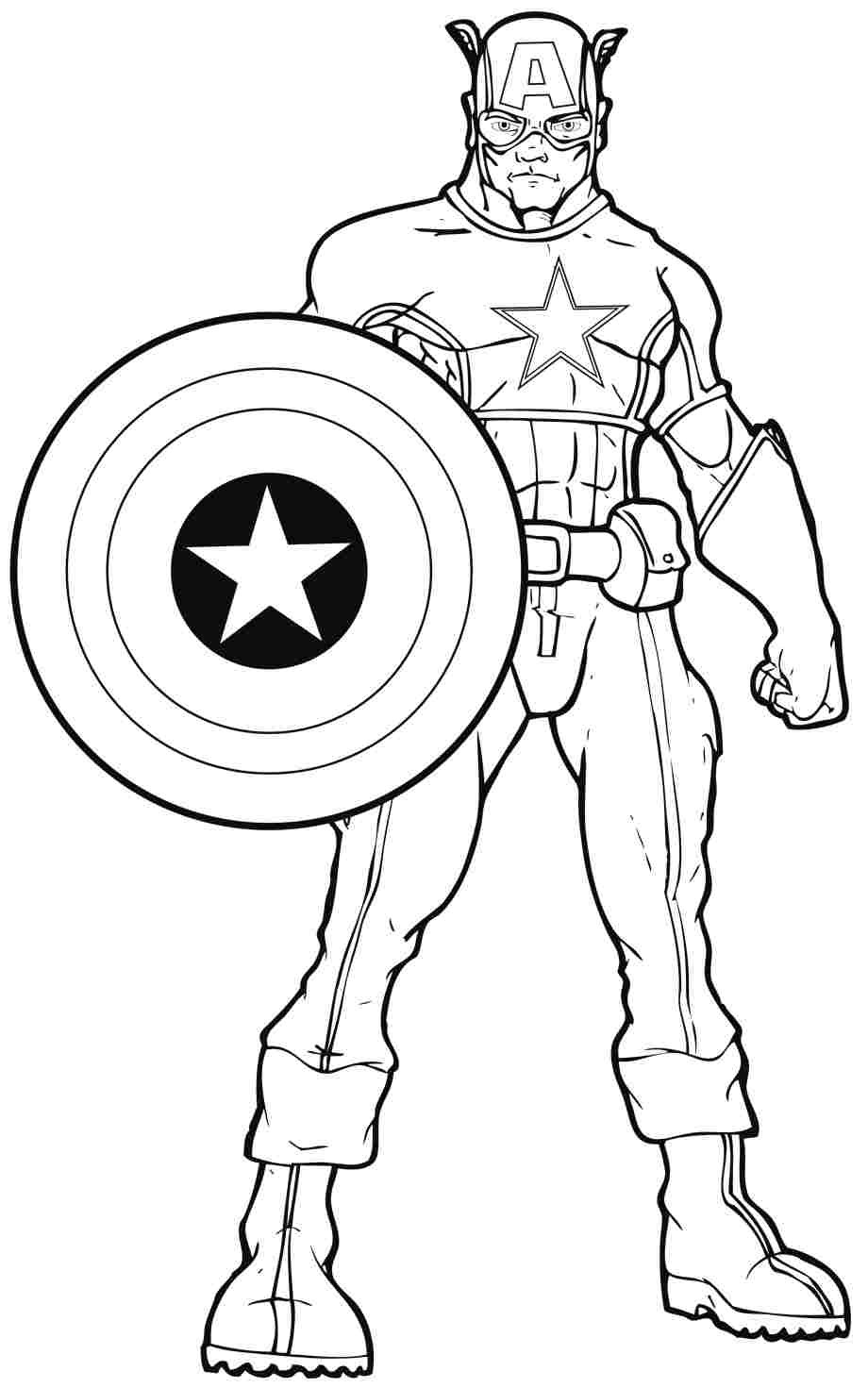 Coloring Pages For Boys Marvel  Dc ics superhero coloring pages ColoringStar
