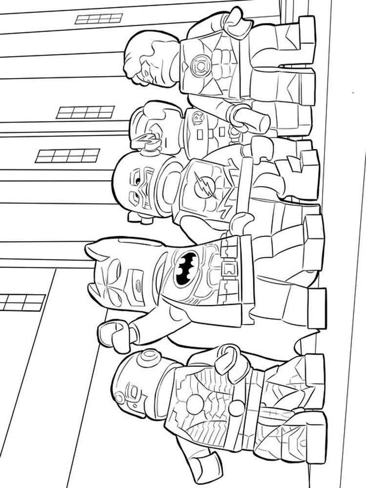Coloring Pages For Boys Marvel  Lego Marvel coloring pages Free Printable Lego Marvel