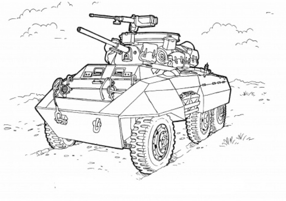 Coloring Pages For Boys Tanks  Get This Army Tank Coloring Pages Free Printable 6784fgh