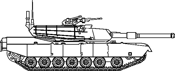 Coloring Pages For Boys Tanks  Military coloring pages 8
