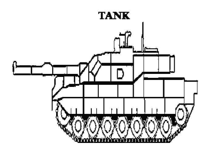 Coloring Pages For Boys Tanks  Free Printable Coloring Pages Military Tank Boys will