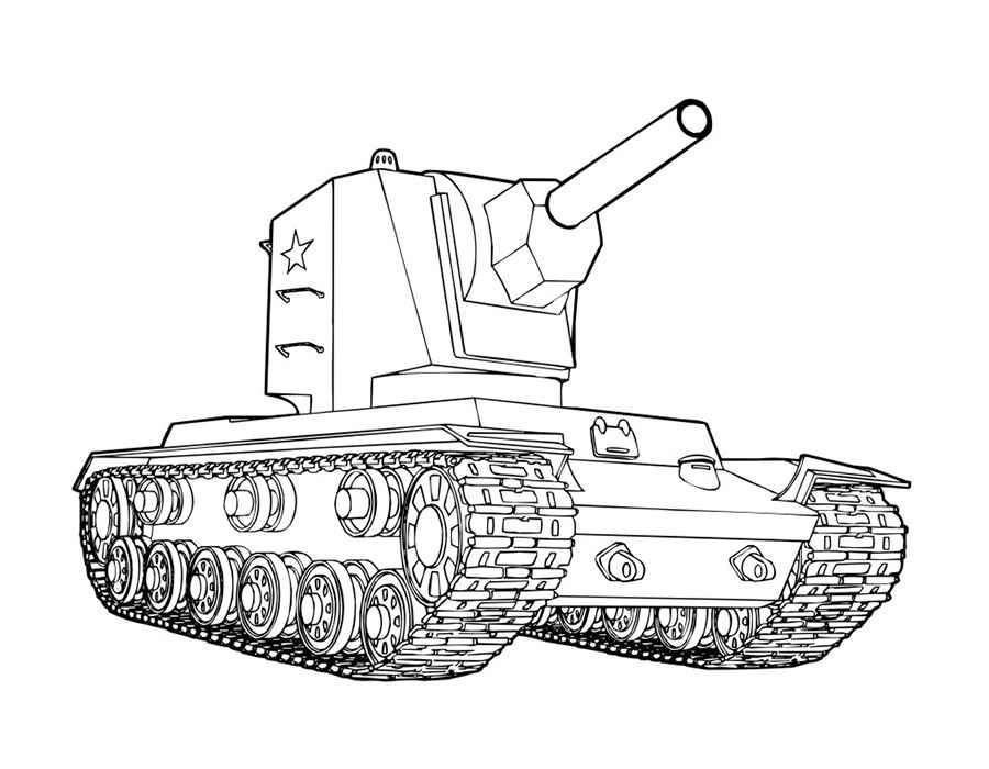 Coloring Pages For Boys Tanks  Tank coloring pages