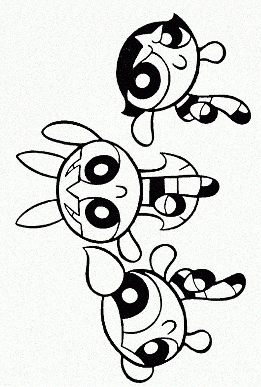 Best ideas about Coloring Pages For Girls 12 And Up . Save or Pin Free Printable Powerpuff Girls Coloring Pages For Kids Now.