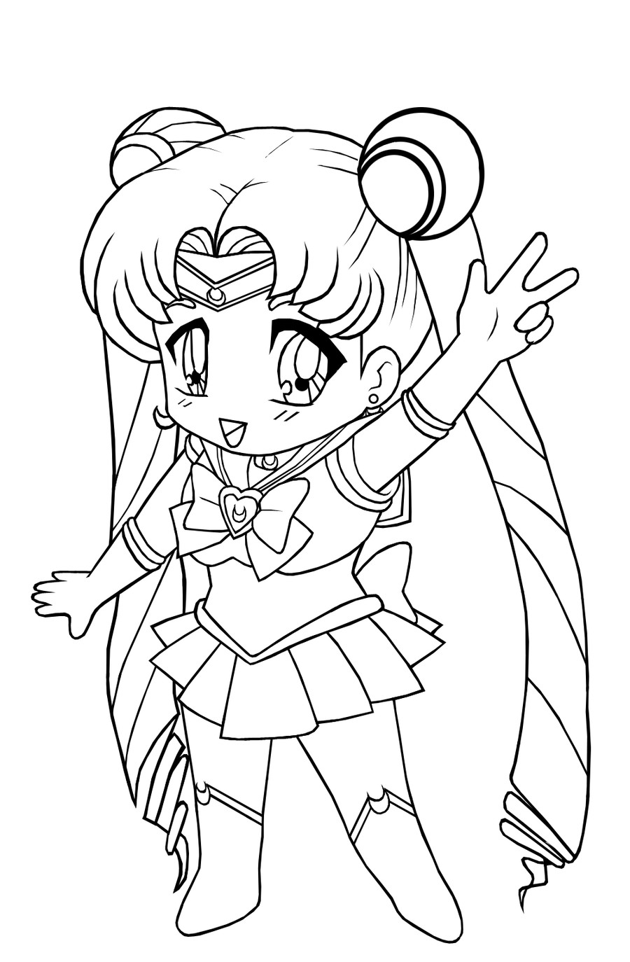 Best ideas about Coloring Pages For Girls 12 And Up . Save or Pin Free Printable Chibi Coloring Pages For Kids Now.