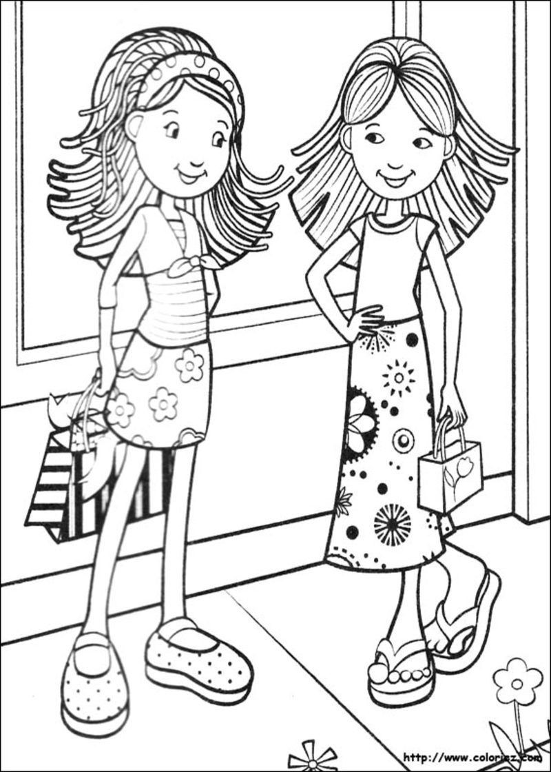 Coloring Pages For Girls 8 Years Old Patterns  coloriages divers