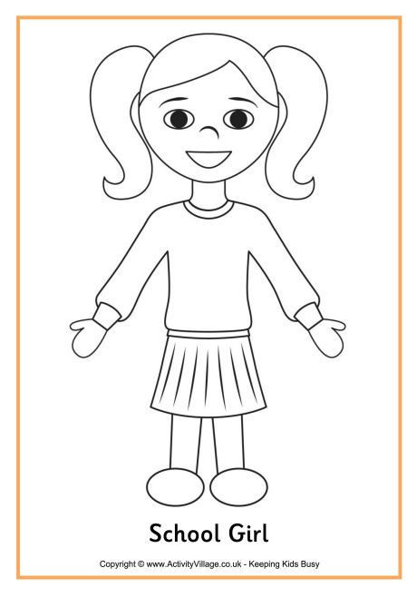 Coloring Pages For Girls And Boys To Print  Printable Boy and Girl Patterns