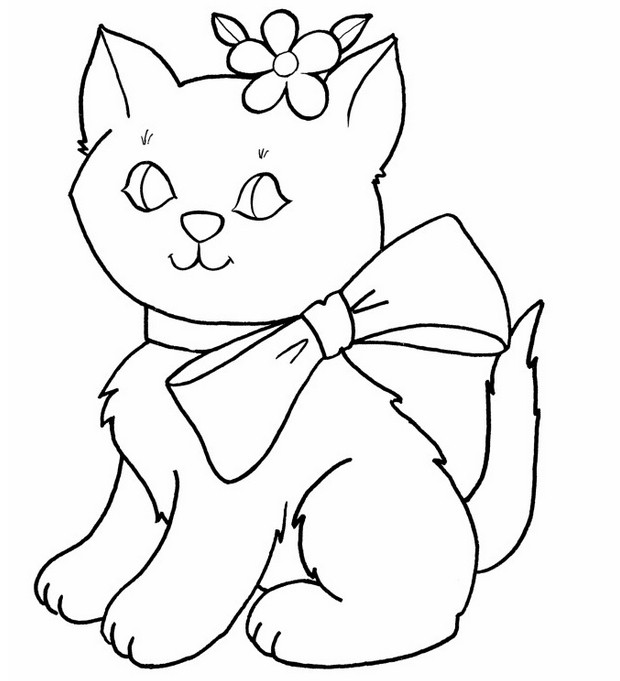 Best ideas about Coloring Pages For Girls Animals . Save or Pin Cute Animal Coloring Pages For Girls To Print The Art Jinni Now.