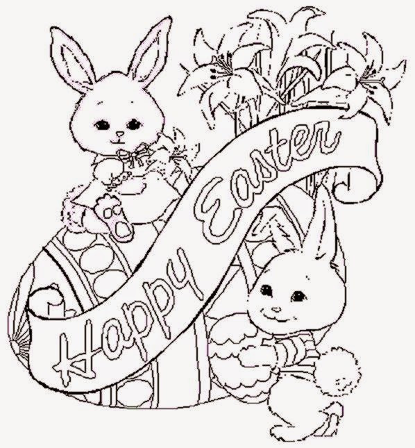 Best ideas about Coloring Pages For Girls Animals . Save or Pin Free Printable Easter Coloring Pages Now.