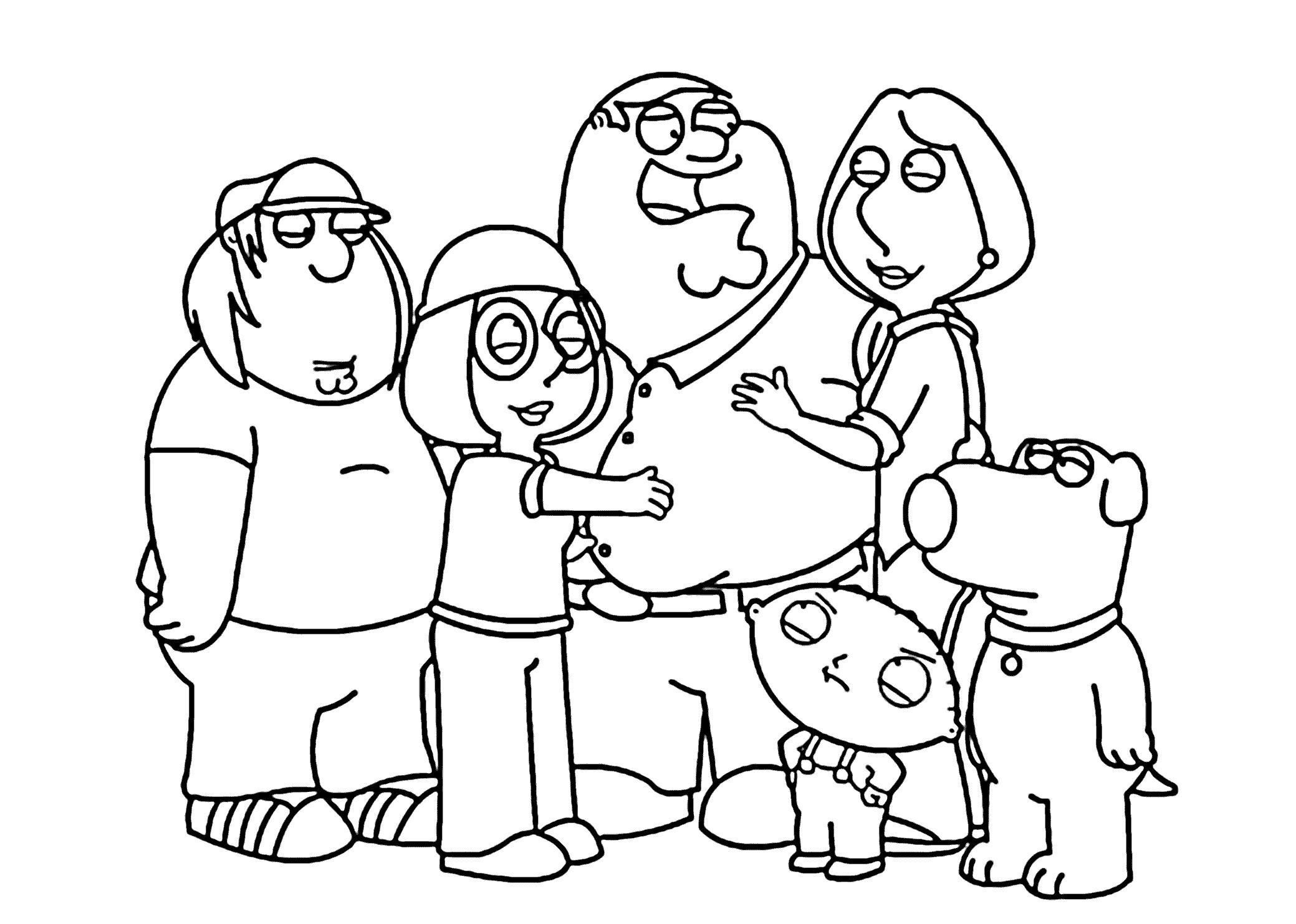 Best ideas about Coloring Pages For Girls From I Love My Family . Save or Pin I Love My Family Coloring Pages Now.