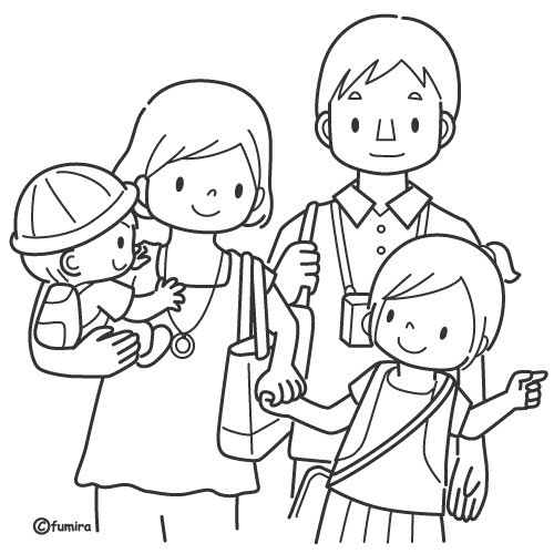 Best ideas about Coloring Pages For Girls From I Love My Family . Save or Pin Imágenes del Da de la Familia para pintar colorear e Now.