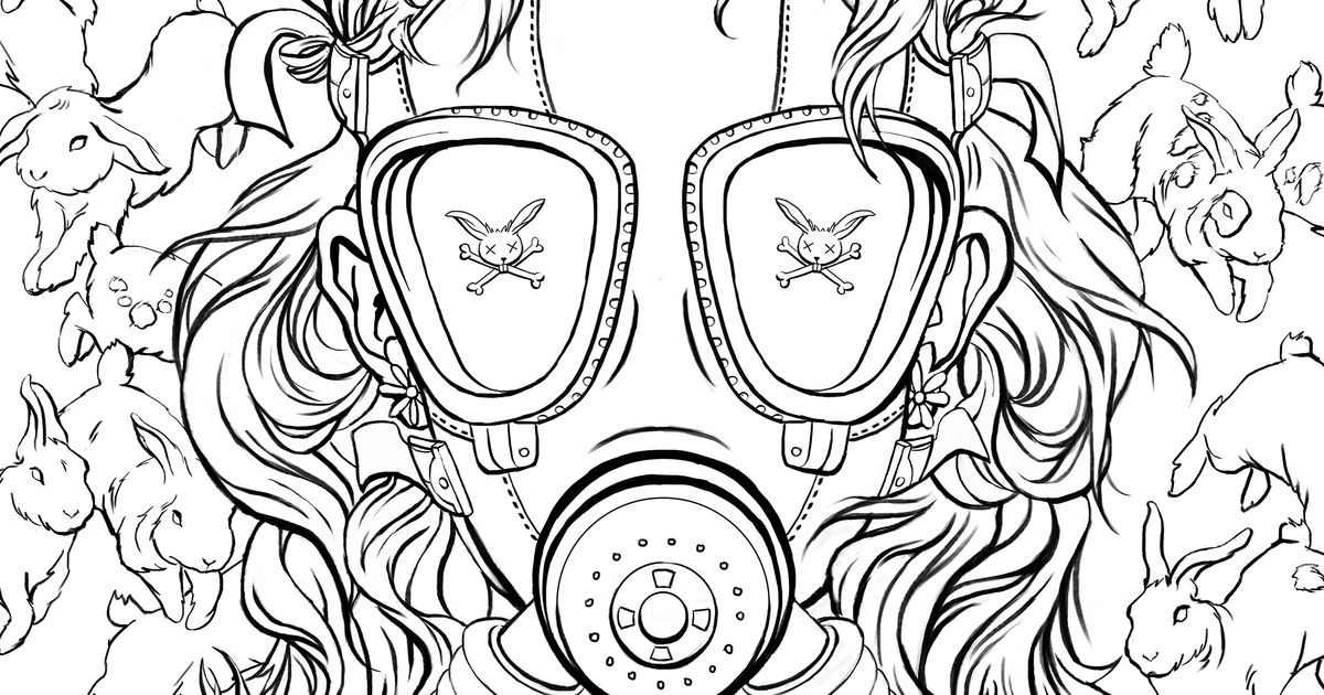 Coloring Pages For Girls Intermidiet  Morbidly colorful tales fill Chuck Palahniuk's adult