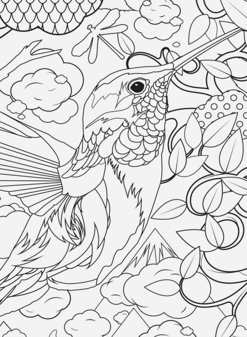 Coloring Pages For Girls Intermidiet  Middle Advanced Coloring Pages Coloring Home