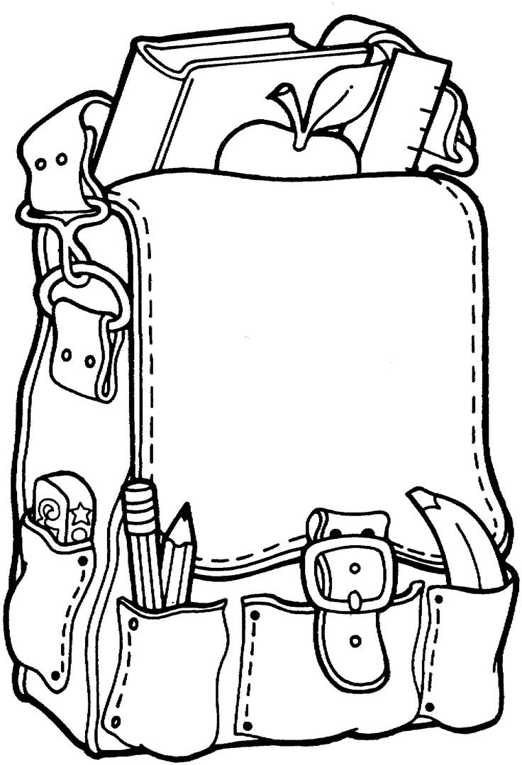 Coloring Pages For Girls Intermidiet  Free Coloring Pages For Girls Minion Backpacks For School