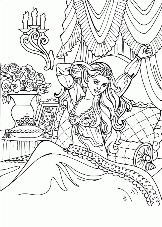 Best ideas about Coloring Pages For Girls Princess High . Save or Pin Printable Coloring Pages Princesses Coloring Pages Now.