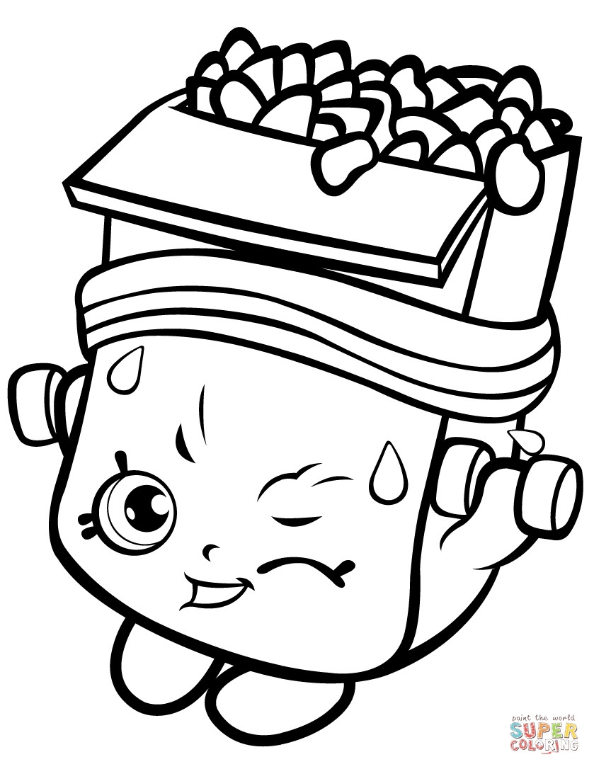 Coloring Pages For Girls Shopkins Apple  Coloring Pages For Girls Shopkins Apple Download 2