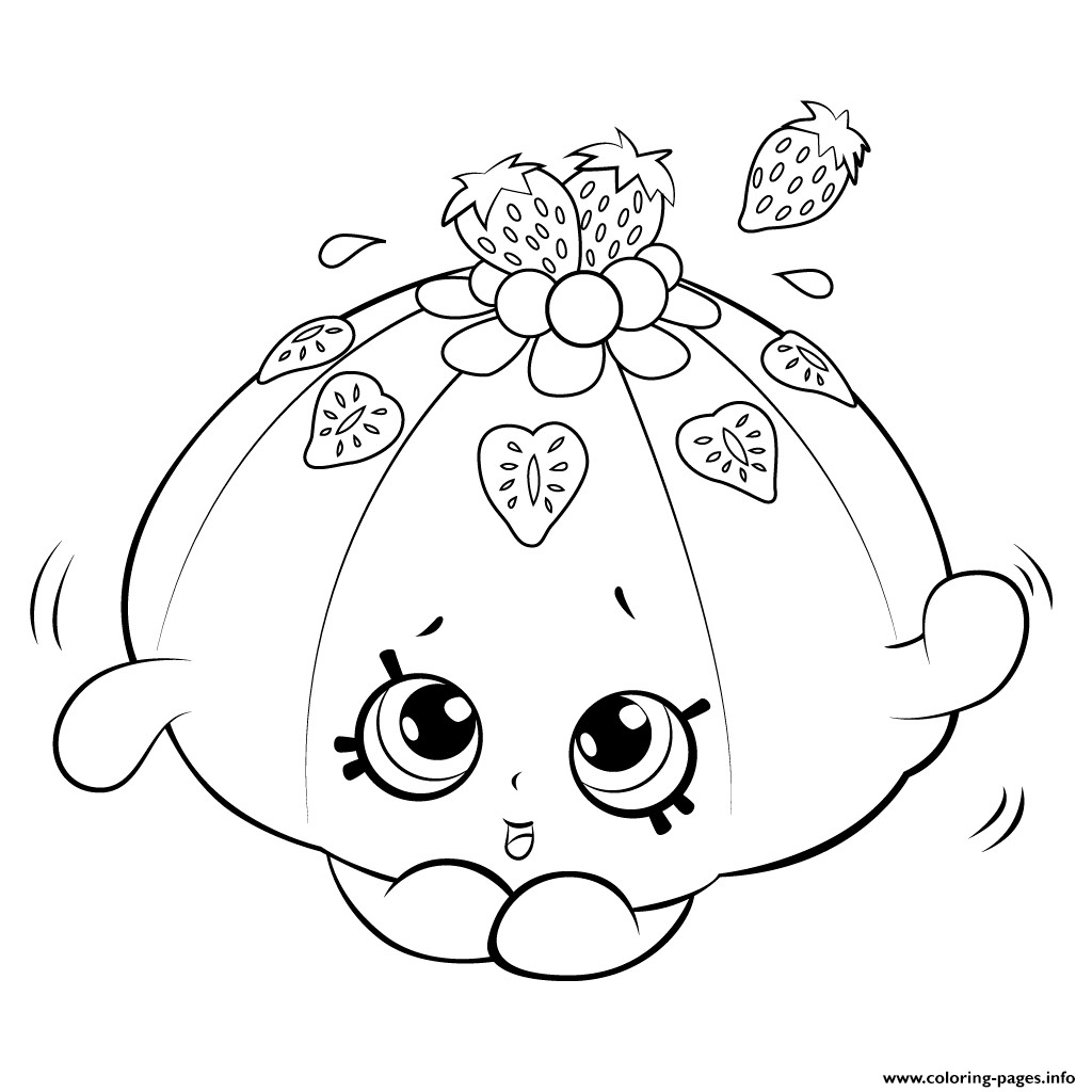 Coloring Pages For Girls Shopkins Apple  Shopkins Apple Coloring Pages Download 6 Shopkins