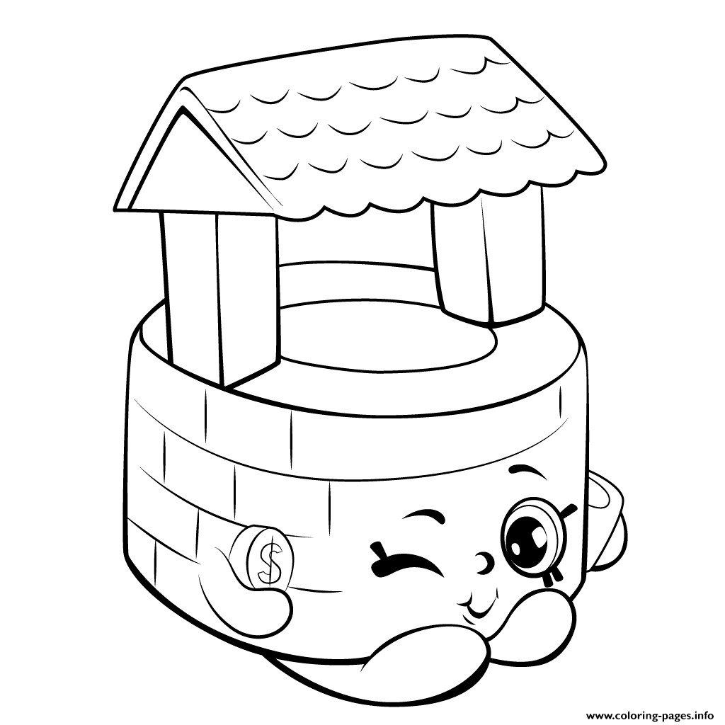 Best ideas about Coloring Pages For Girls Shopkins Season 5 . Save or Pin Wishing Well Shopkins Season 5 Coloring Pages Printable Now.