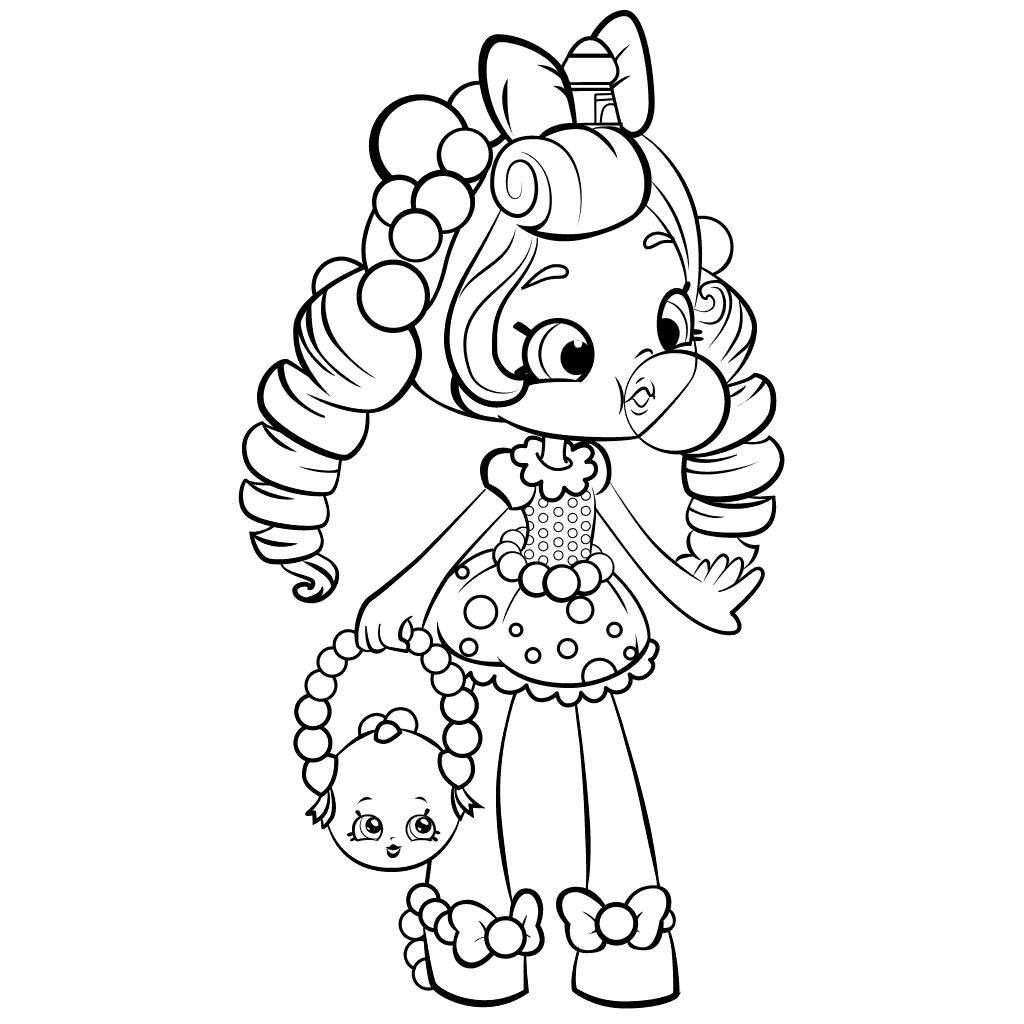 Best ideas about Coloring Pages For Girls Shopkins Season 5 . Save or Pin coloring pages for girls Now.