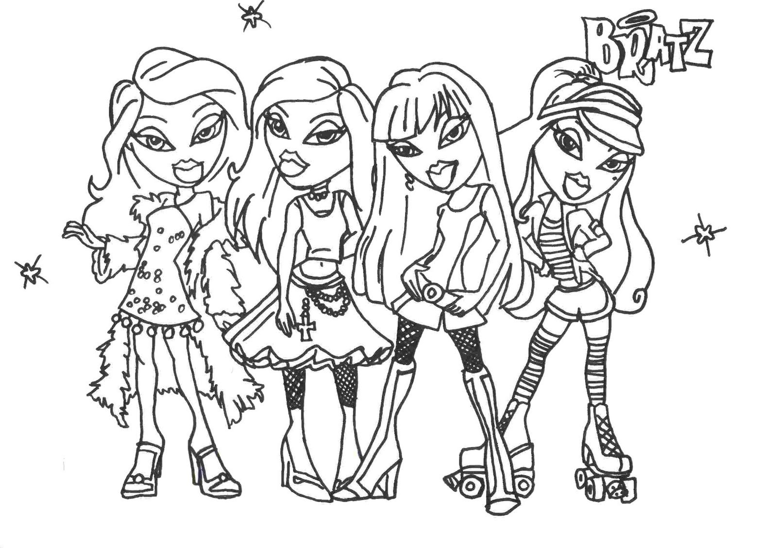 Coloring Pages For Girls That You Can Print  Free Coloring Pages for Girls Bestofcoloring