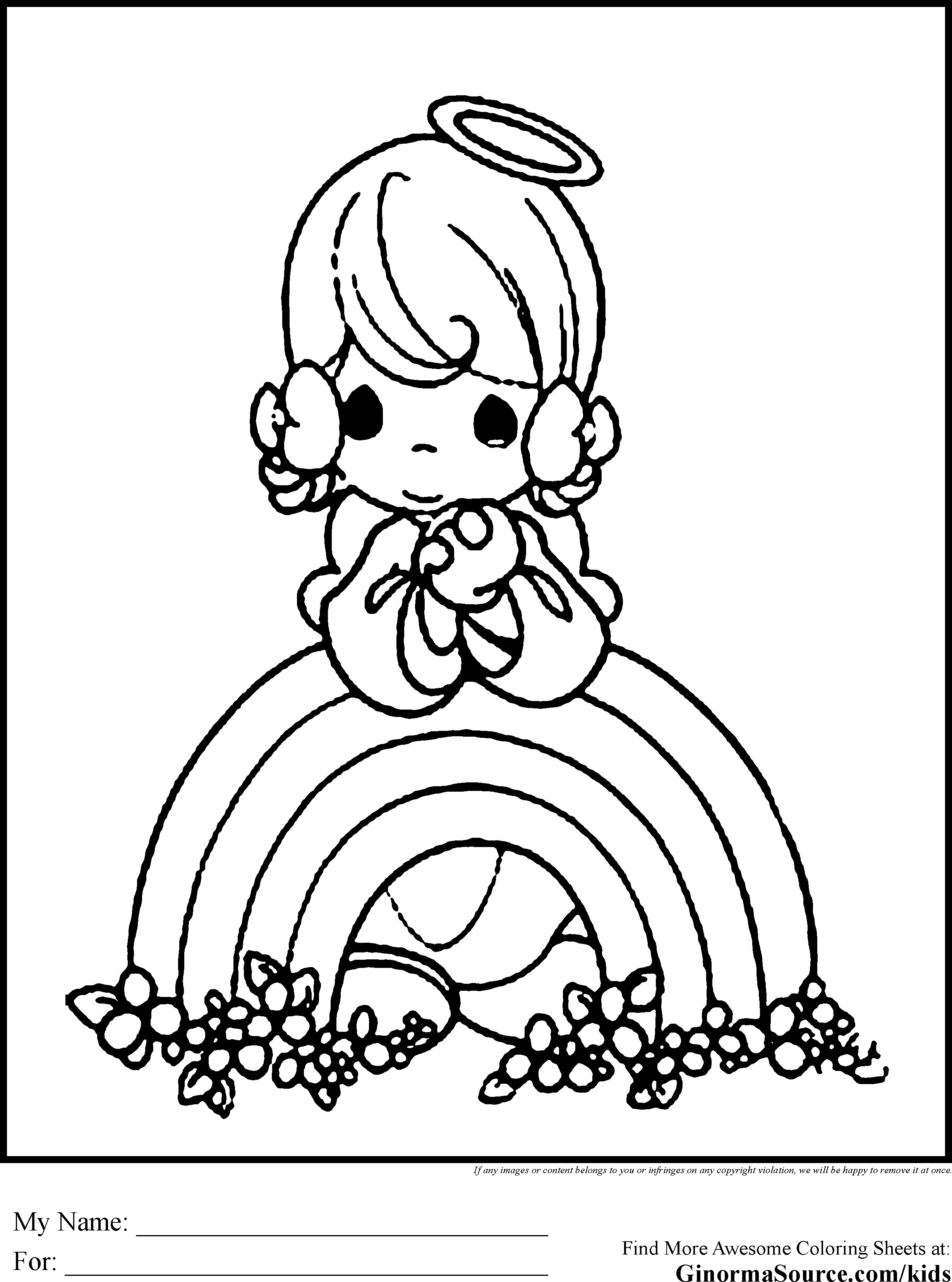 Coloring Pages For Girls That You Can Print  Coloring Pages For Girls That You Can Print – Color Bros
