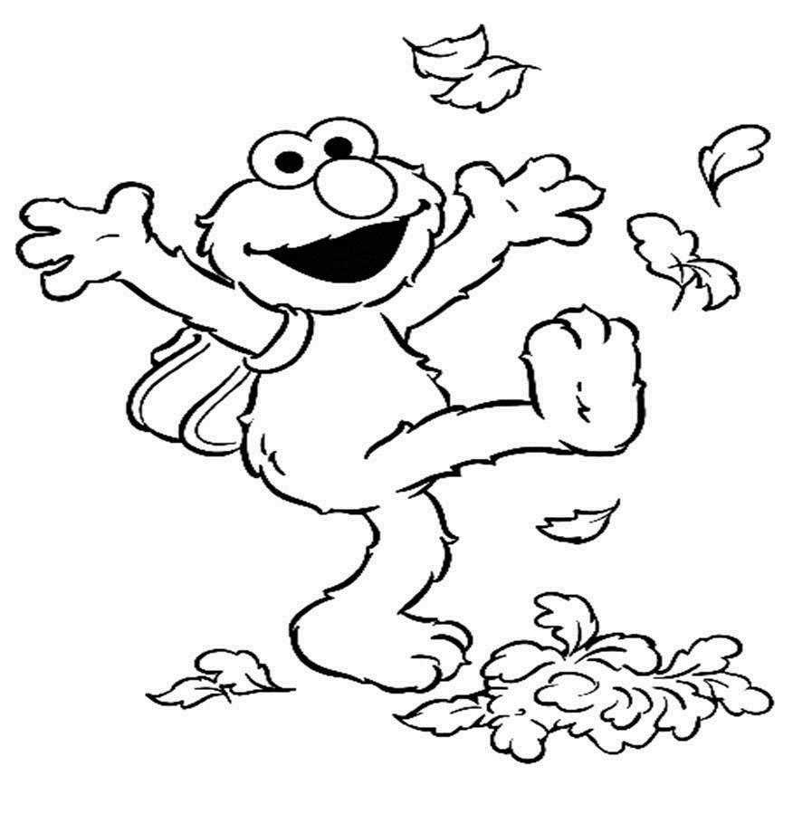 Coloring Pages For Kides  Free Printable Elmo Coloring Pages For Kids