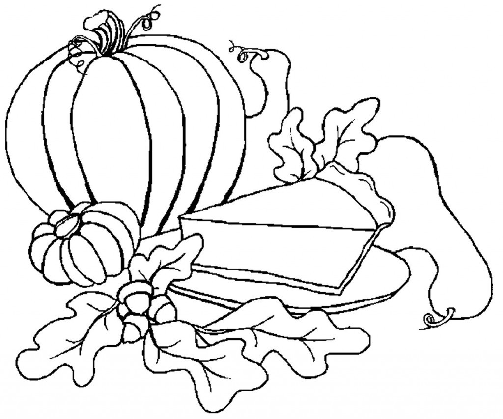 Coloring Pages For Kides  Free Printable Pumpkin Coloring Pages For Kids