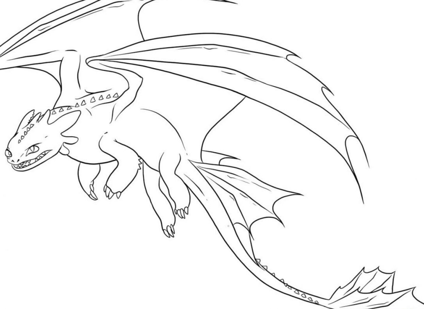 Coloring Pages For Kids Dragons  Free Printable Dragon Coloring Pages For Kids