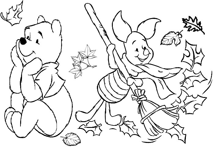 Coloring Pages For Kids Fall  Fall Coloring Pages 2018 Dr Odd