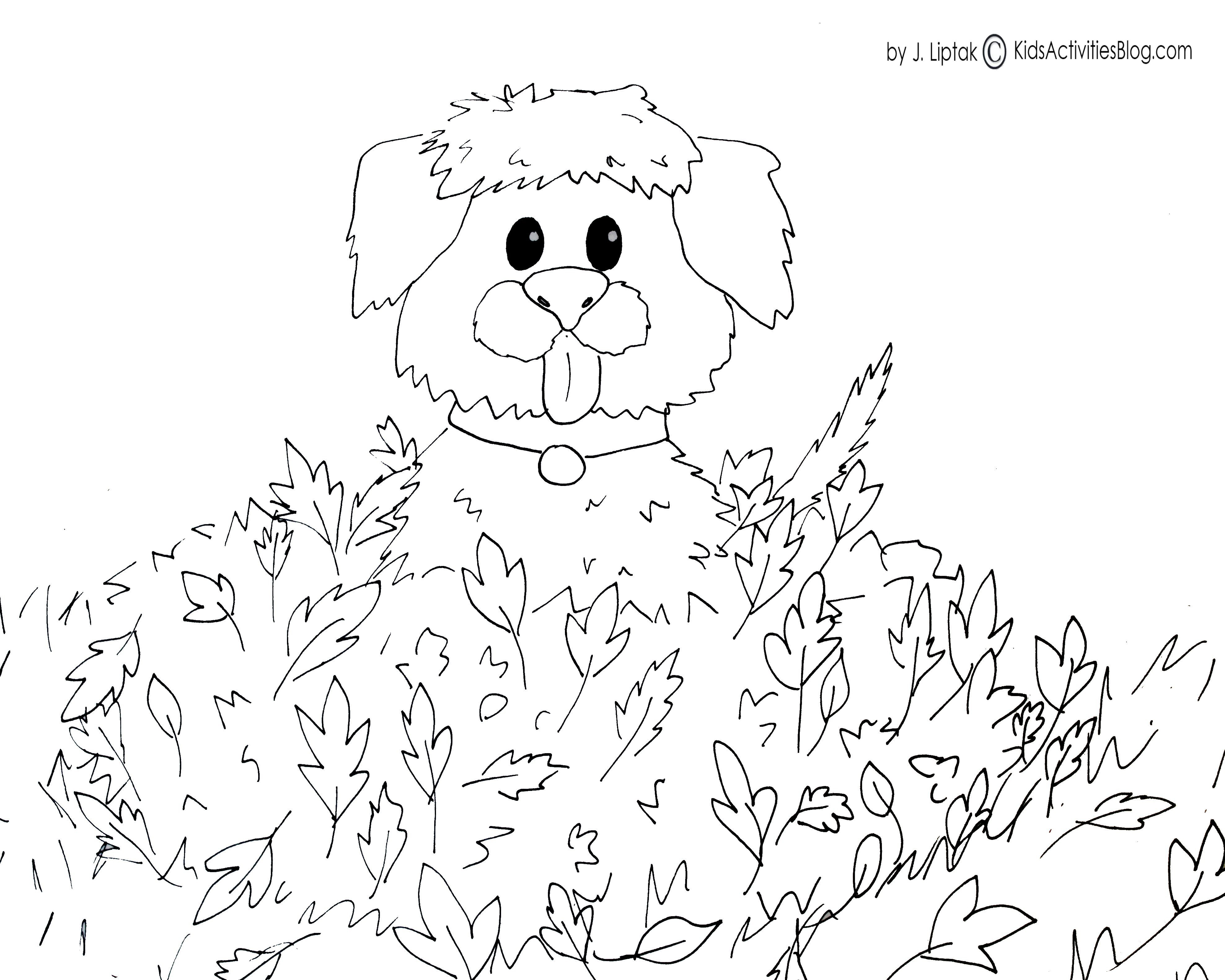 Coloring Pages For Kids Fall  Fall Free Printables For Kids