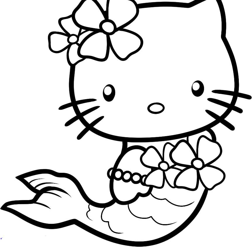 Coloring Pages For Kids Hello Kitty  Hello Kitty Halloween Coloring Pages Bestofcoloring