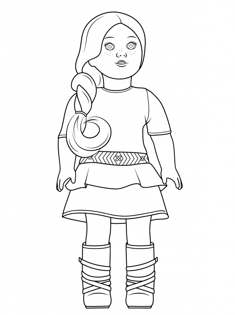 Coloring Pages For Teens Grace  American Girl Coloring Pages Best Coloring Pages For Kids