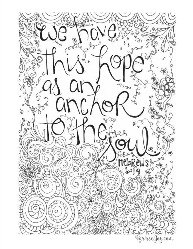 Coloring Pages For Teens Grace  FREE inspirational coloring page