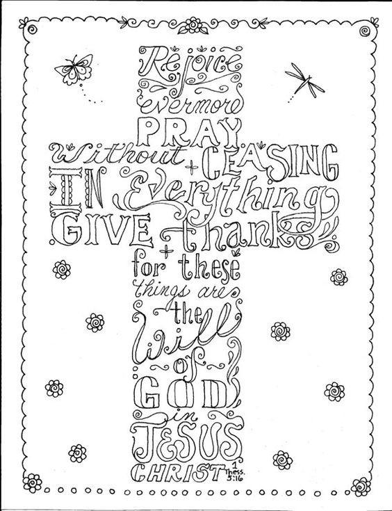 Coloring Pages For Teens Grace  Kolorowanki dla dorosłych Religijne do wydruku część 1