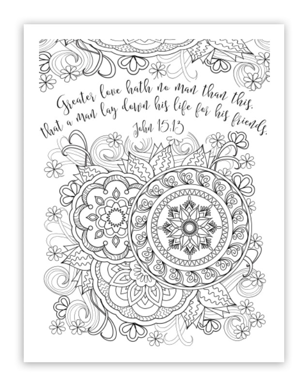 Coloring Pages For Teens Grace  Free Christian Coloring Pages for Adults Roundup
