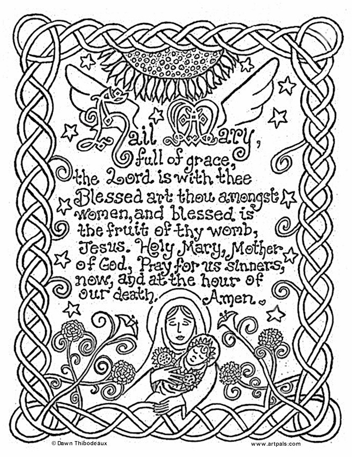 Coloring Pages For Teens Grace  The Lord S Prayer Coloring Pages For Children Coloring Home
