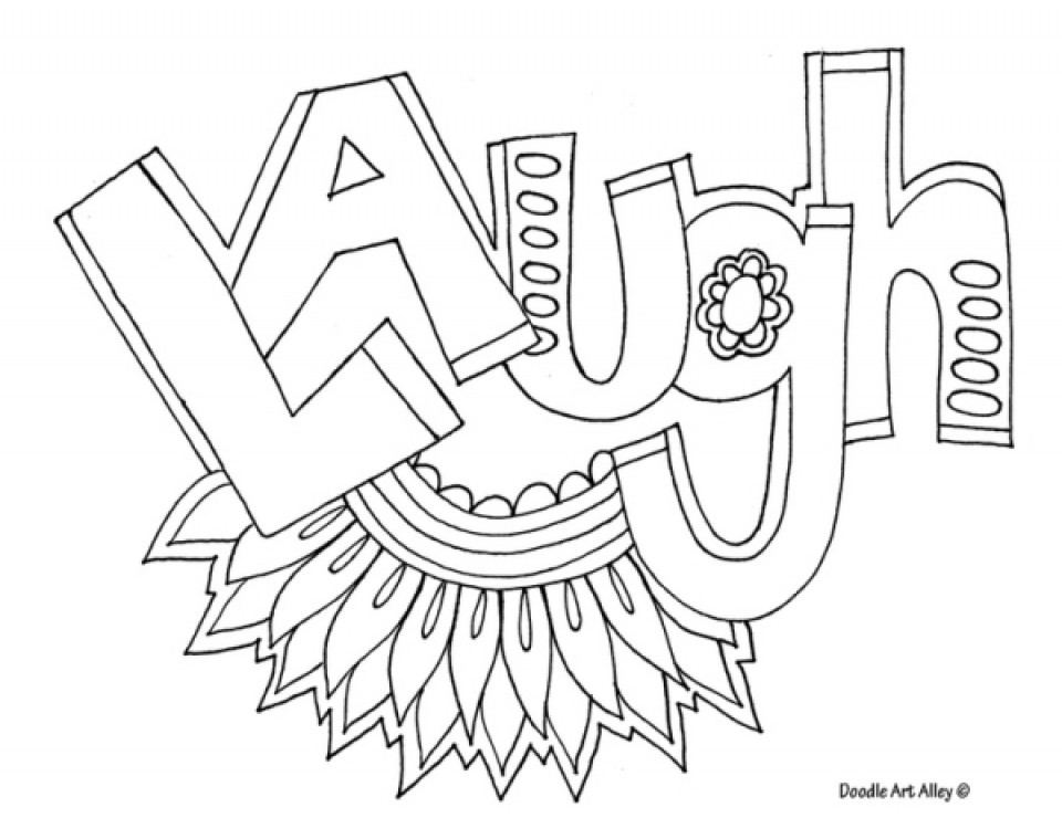 Best ideas about Coloring Pages For Teens Happy . Save or Pin Get This Printable Teen Coloring Pages line Now.