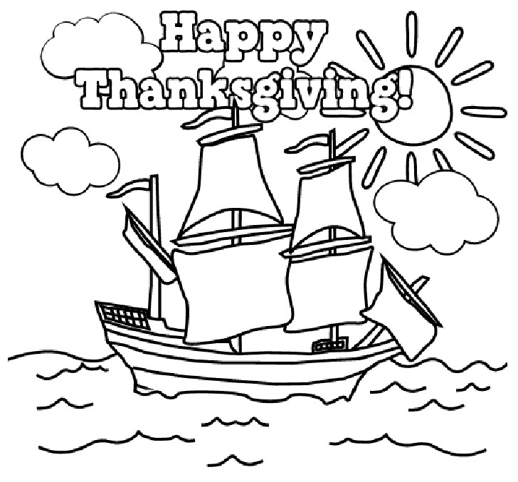 Best ideas about Coloring Pages For Teens Happy . Save or Pin Happy Thanksgiving Coloring Pages Printables – Picture 7 Now.