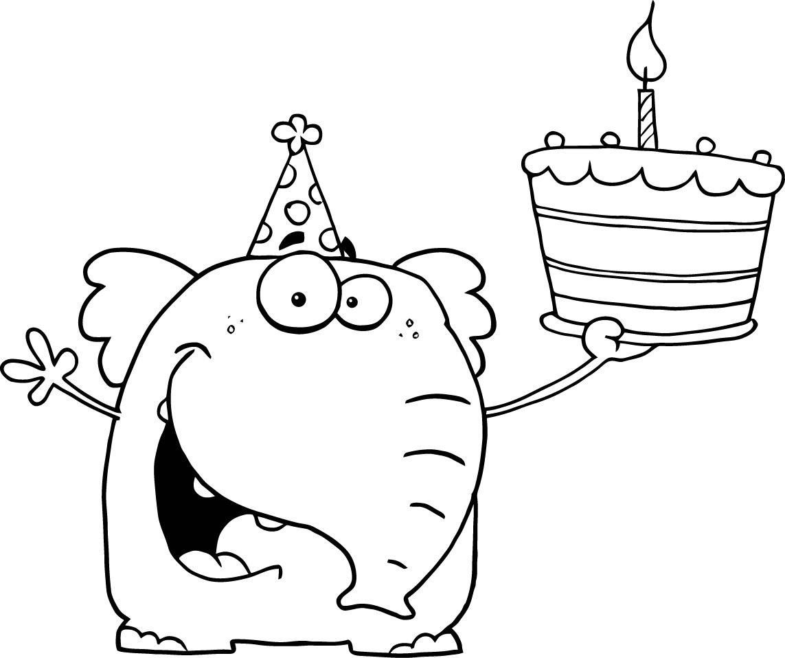 Best ideas about Coloring Pages For Teens Happy . Save or Pin Free happy birthday coloring pages for kids ColoringStar Now.