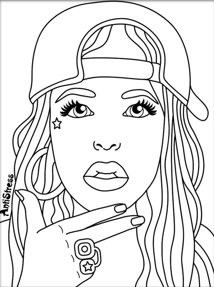 Coloring Pages For Women  Pin by Val Wilson on Coloring pages Pinterest