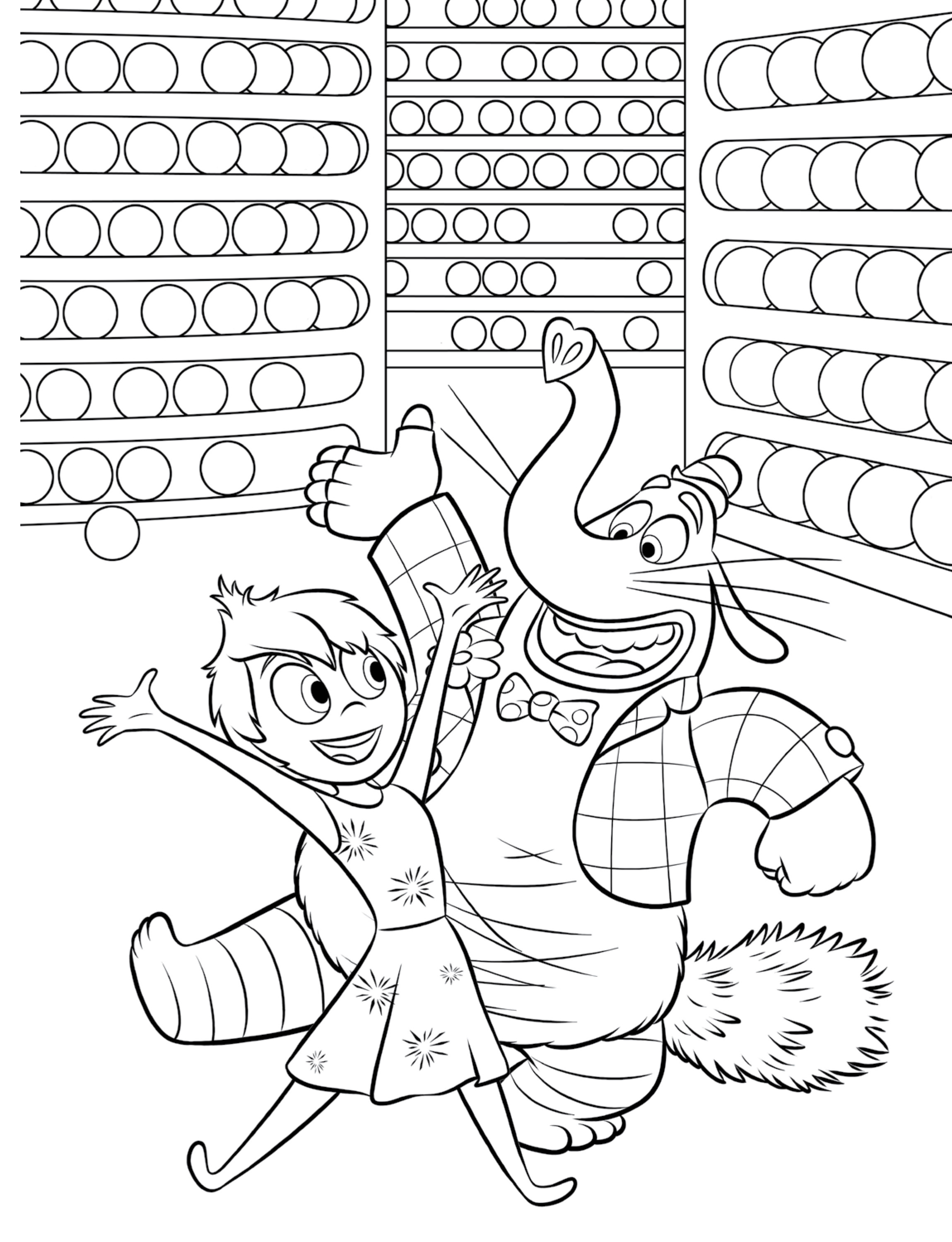 Coloring Pages Inside Out  Inside Out Coloring Pages Best Coloring Pages For Kids