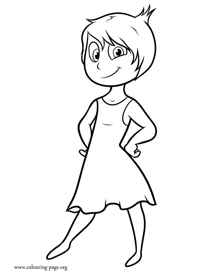 Coloring Pages Inside Out  Inside Out Disney Character Coloring Pages Sketch Coloring
