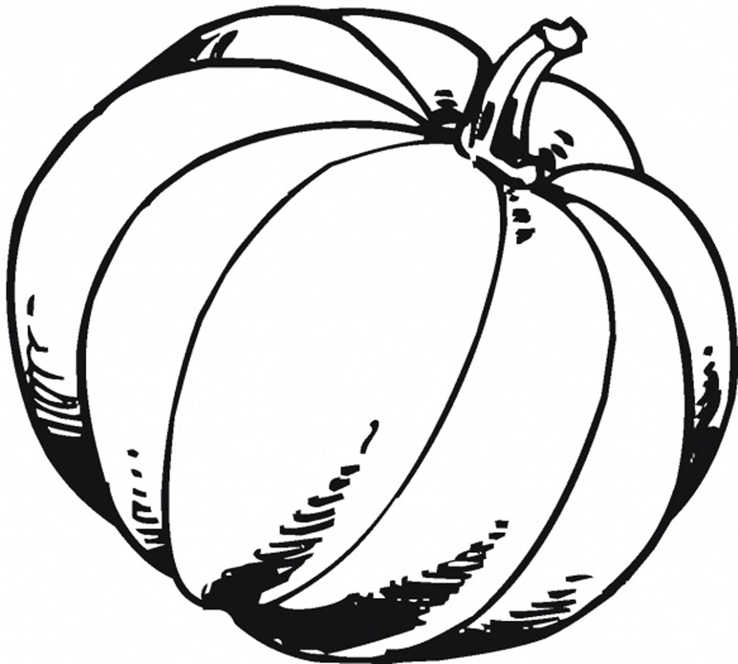 Coloring Pages Of Pumpkins  Fall Pumpkin Coloring Pages Bestofcoloring