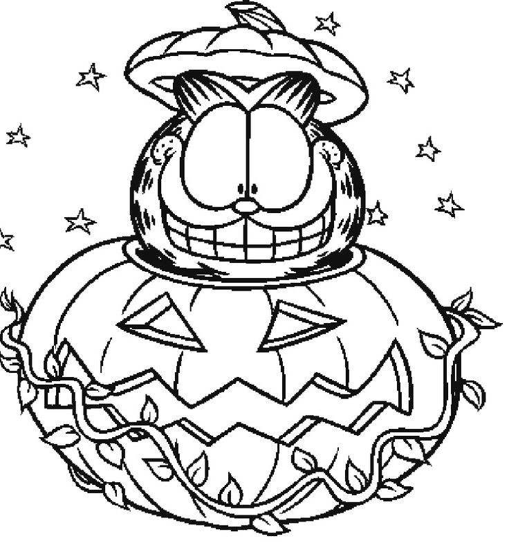 Coloring Pages Of Pumpkins  Halloween Coloring Pages 2018 Printable Halloween