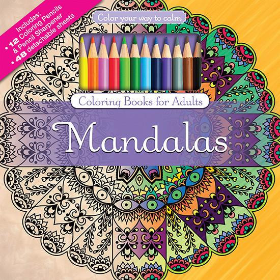 """Coloring Pencils For Adult Coloring Books  Collection of Adult Coloring Books tagged """"Patterns"""