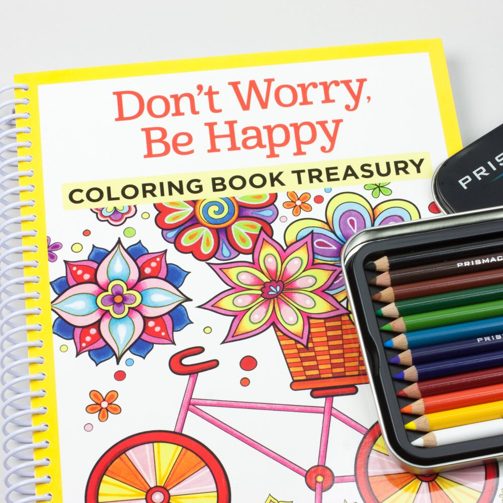 Coloring Pencils For Adult Coloring Books  Adult Coloring Book Kit with Prismacolor 12 colored