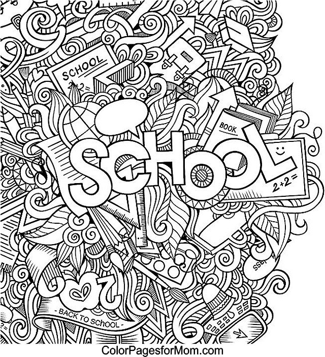 Coloring Sheets For Girls Binders  Doodles 42 Advanced Coloring Pages