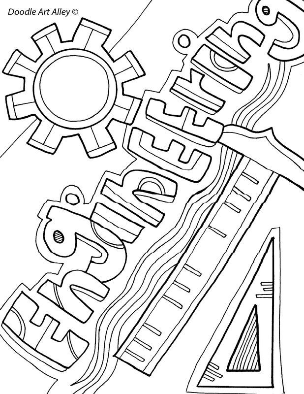 Coloring Sheets For Girls Binders  Free printable Subject Cover Pages Coloring Pages for