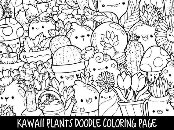 Coloring Sheets For Girls Binders  Christmas Kawaii Coloring Weareeachother Coloring