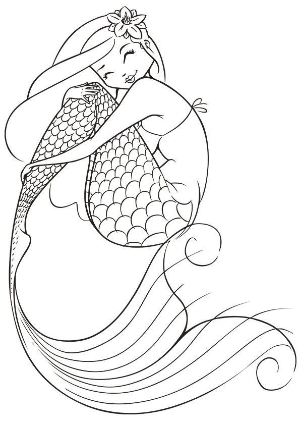 Coloring Sheets For Girls Mermairds  Relive Your Childhood Free Printable Coloring Pages for