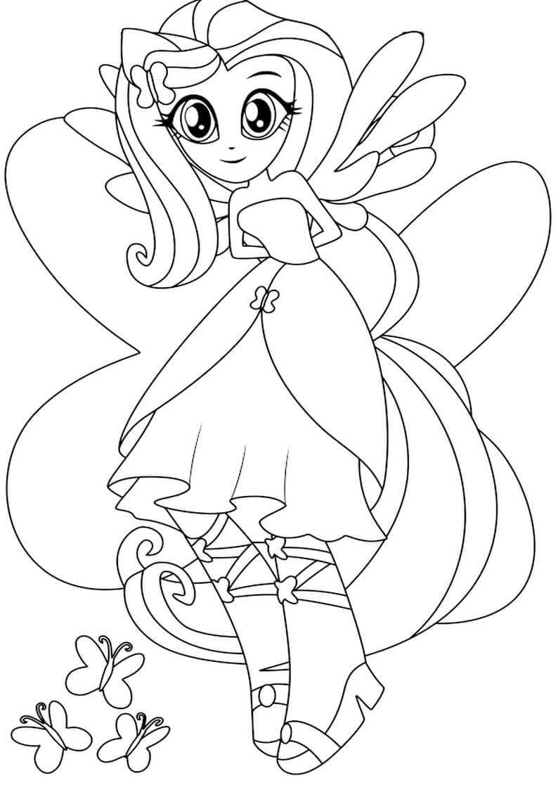 Coloring Sheets For Girls My Little Pony Apple Jack  My Little Pony Equestria Girls Applejack Coloring Pages